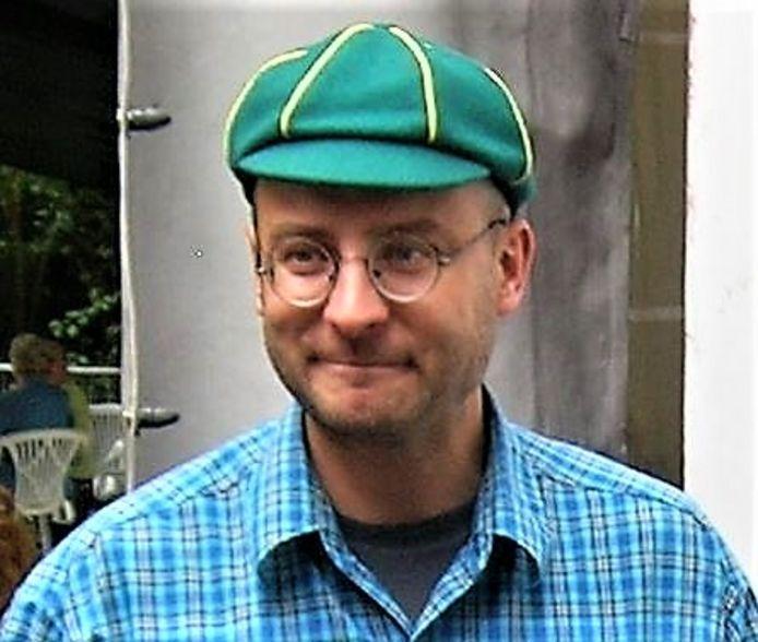 Thierry Meerschman van de werkgroep Natuurtuin Desloovere.