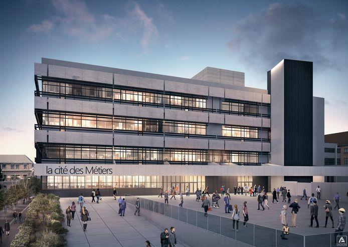 La future Cité des Métiers à Charleroi