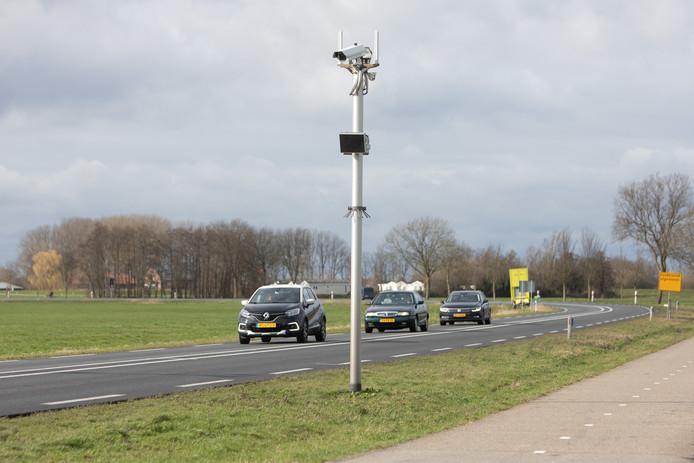 Maandag gaat de eerste trajectcontrole op een N - weg in Nederland van start.