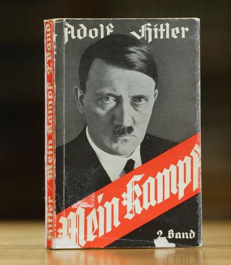 Te koop voor 15 euro op boekenmarkt: Mein Kampf