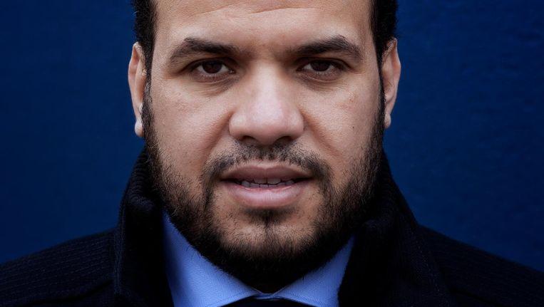 Yassin Elforkani: 'Ik wil een discussie op gang brengen over orgaandonatie.' Beeld Mark van der Zouw