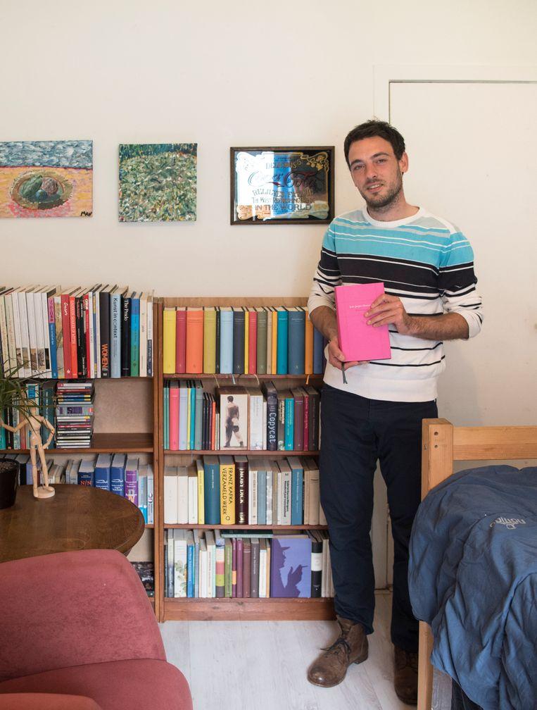 Alessandro Di Meo (31) uit Amersfoort, postbode Beeld TRBEELD