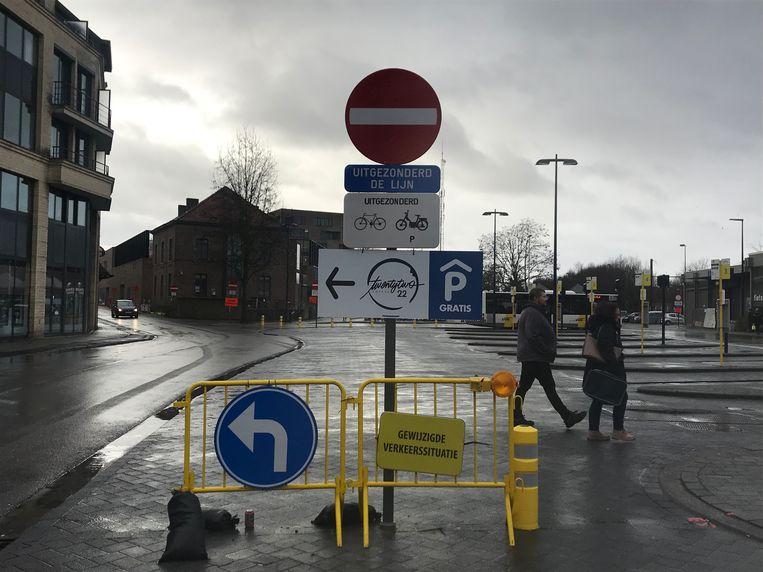 Het protest tegen de betalende stationsparking laait hoog op in Sint-Truiden
