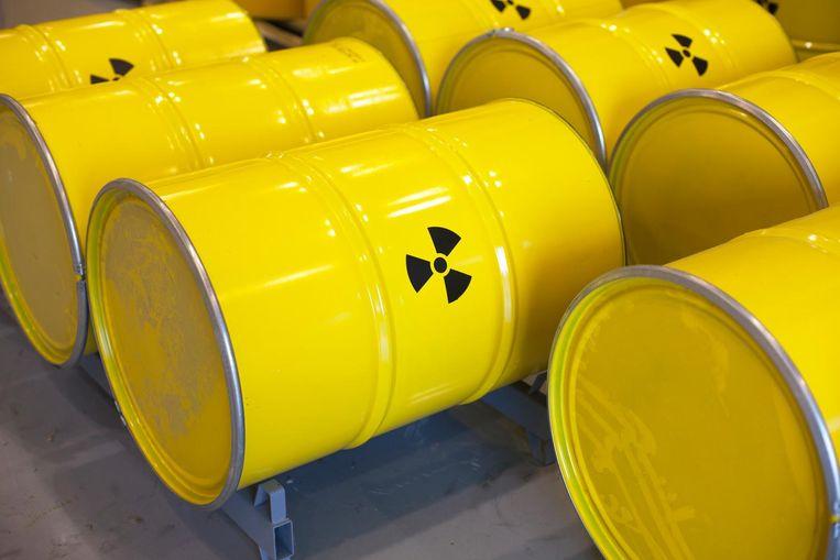 Nuclear waste. Beeld thinkstock