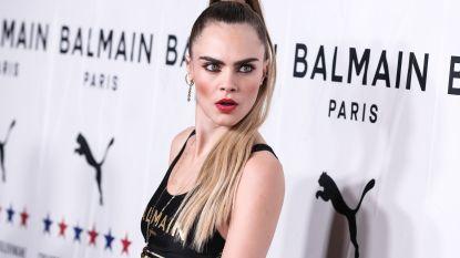 Cara Delevingne gaat (eventjes) voor volledig nieuwe look