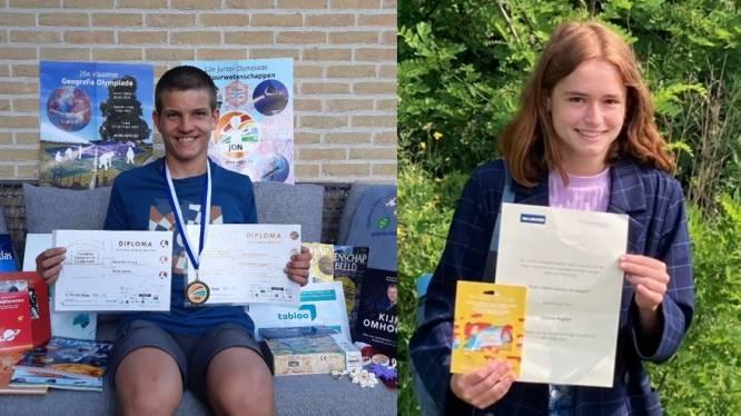 Van topleerlingen gesproken: Lizanne is 'jonge filosofische pen van Vlaanderen', Rune haalt goud op Junior Olympiade Natuurwetenschappen