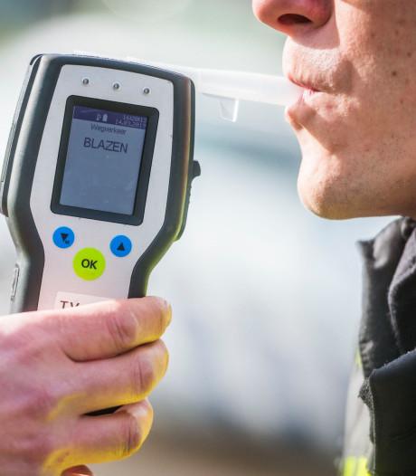 Dronken automobilist (36) uit Fijnaart geeft fout direct na aanrijding toe