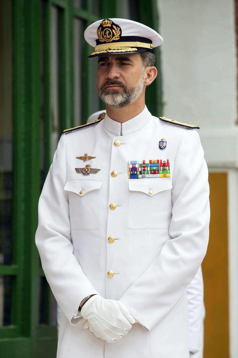 De Spaanse koning Felipe Beeld epa