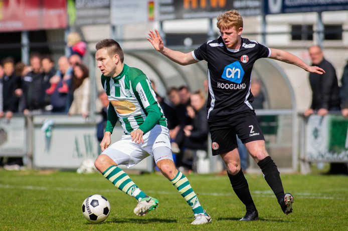 AWC eerder dit seizoen tegen Hoogland.