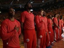 Stil protest basketballers LA Clippers tegen clubeigenaar