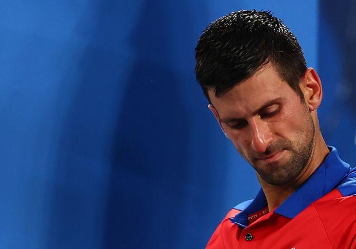 Novak Djokovic moet gaan spelen om het brons.