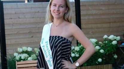 Axelle (20) zit in finale Miss Fashion