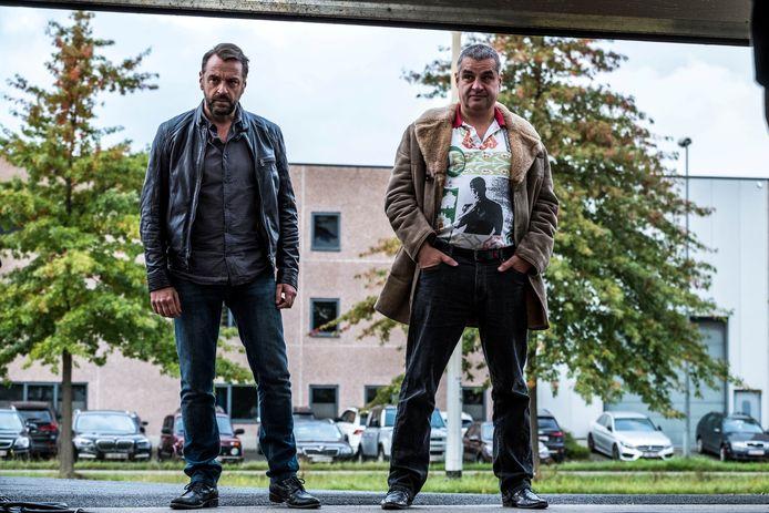 Tom Waes en Frank Lammers in het derde seizoen van 'Undercover'.