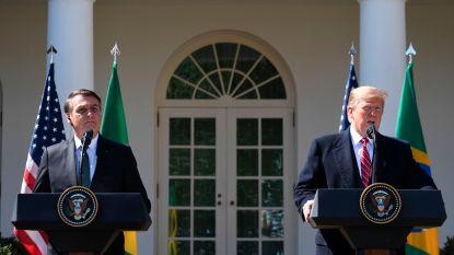Trump wil NAVO-lidmaatschap voor Brazilië