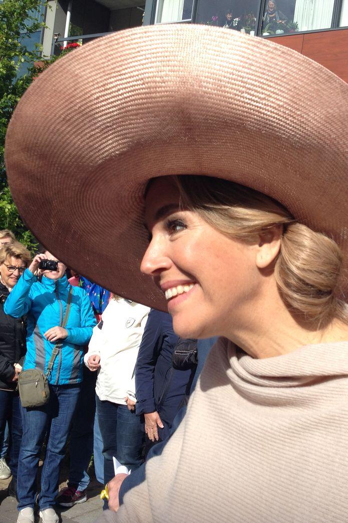 De koningin in Hulst.