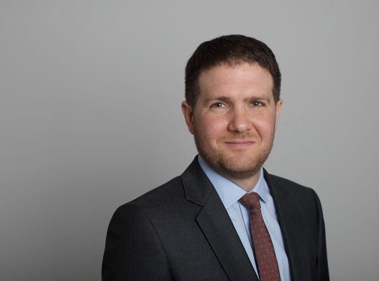 Alex Barker. Beeld Financial Times