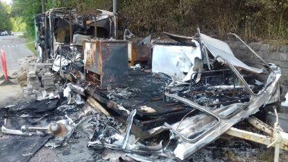 Brandstichters aan het werk in Huizingen: nu ook frituur uitgebrand aan provinciedomein