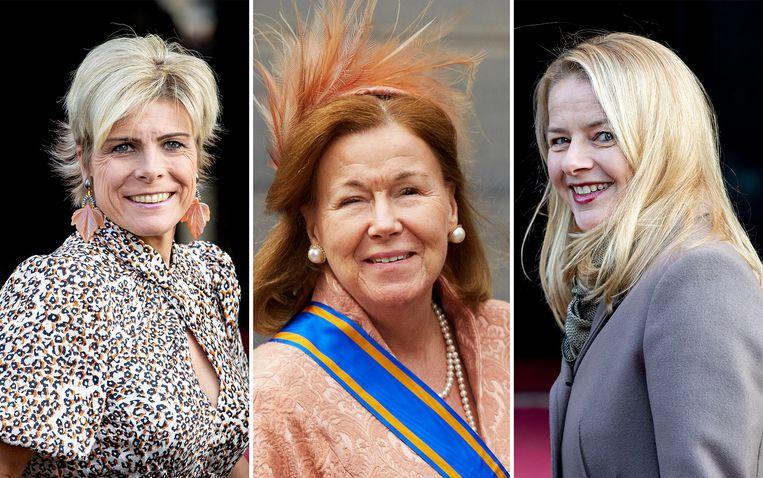 Laurentien, Christina, Mabel Beeld ANP / Getty Images