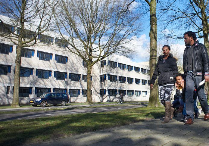 Het belastingkantoor aan de Raadhuislaan in Oss.