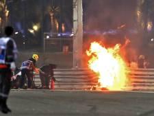Bij elke crash zal Grosjean nog eens kijken naar die littekens op zijn handen