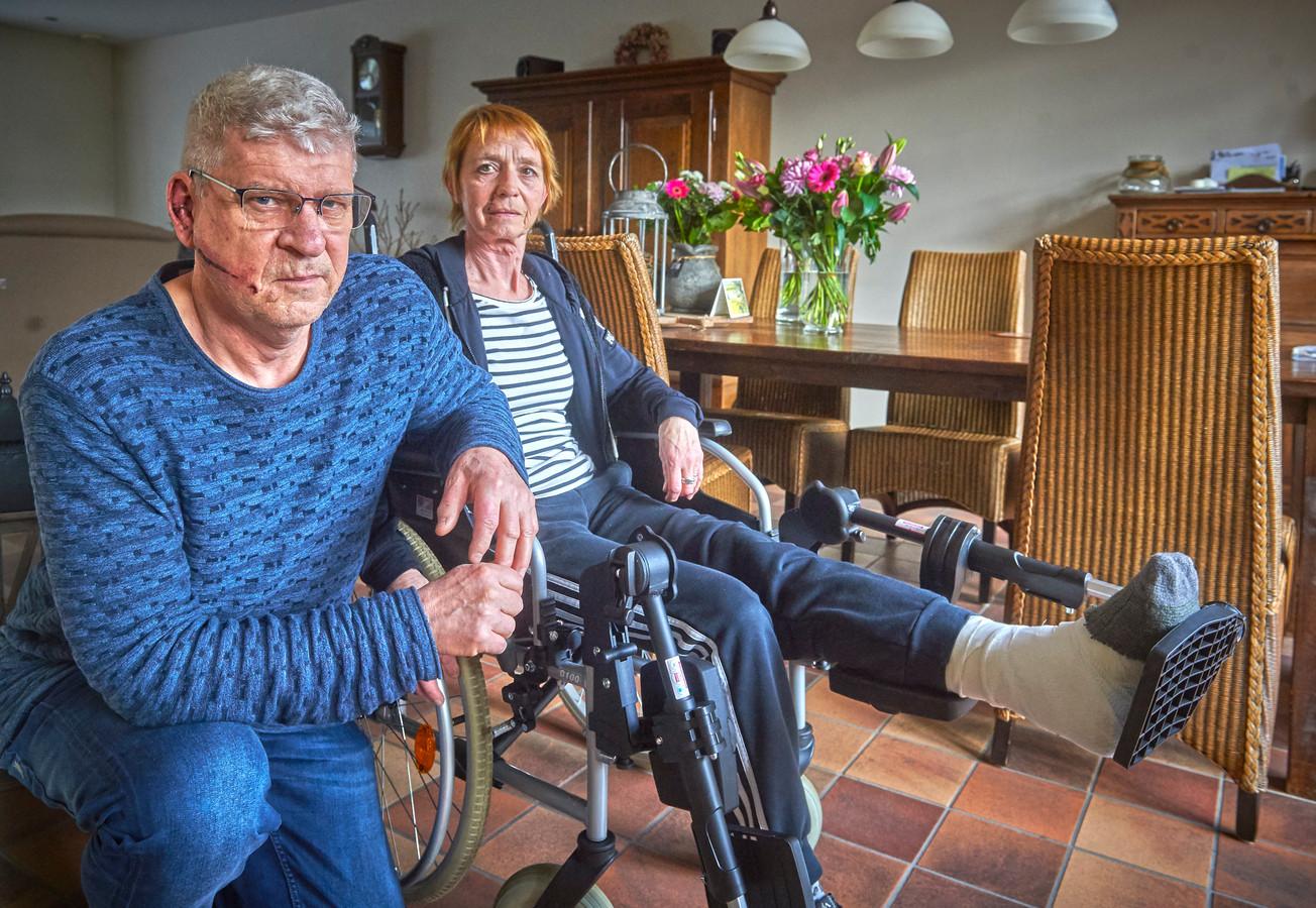 Wim en Trudie Thoonen uit Zeeland zijn slachtoffer van een boze tauros.
