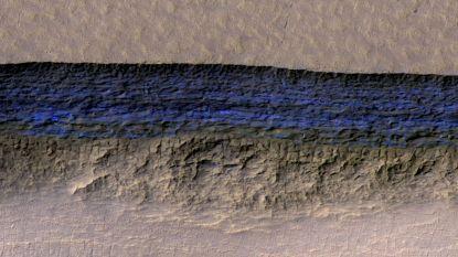 Proper ijswater net onder oppervlakte Mars ontdekt