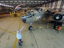 Bommenwerper B25 Mitchel was ook het geluid van de bevrijding