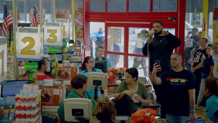 Ook videoclips bij nummers als 'God's Plan' (Drake) zullen op YouTube Music staan. Beeld RV Youtube
