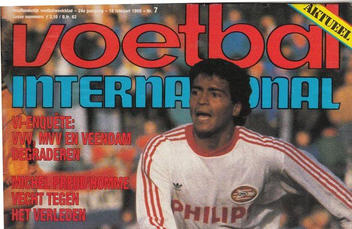 Een iconisch cover van Voetbal International.