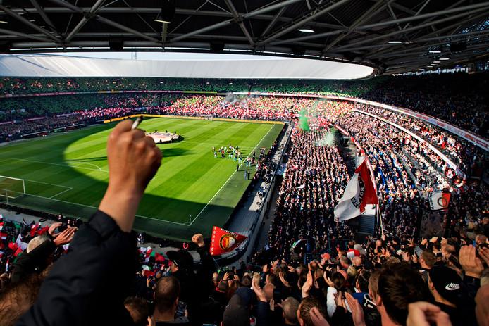 De kolkende Kuip is een onneembare vesting dit seizoen voor alle tegenstanders van Feyenoord.