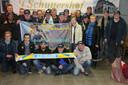 De supportersclub van Jolien Verschueren. (archiefbeeld)