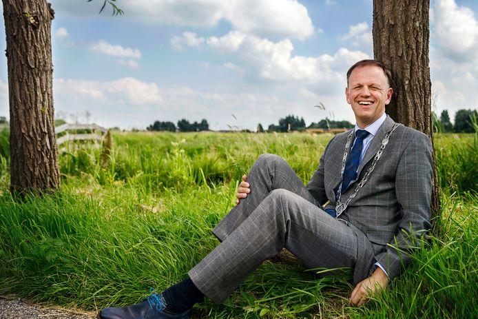 Burgemeester Christaan van der Kamp van de gemeente Bodegraven-Reeuwijk.