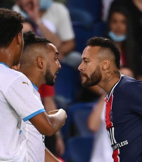 Cinq exclusions, bagarre générale, clash Neymar-Gonzalez: le PSG s'incline au terme d'un Clasico électrique