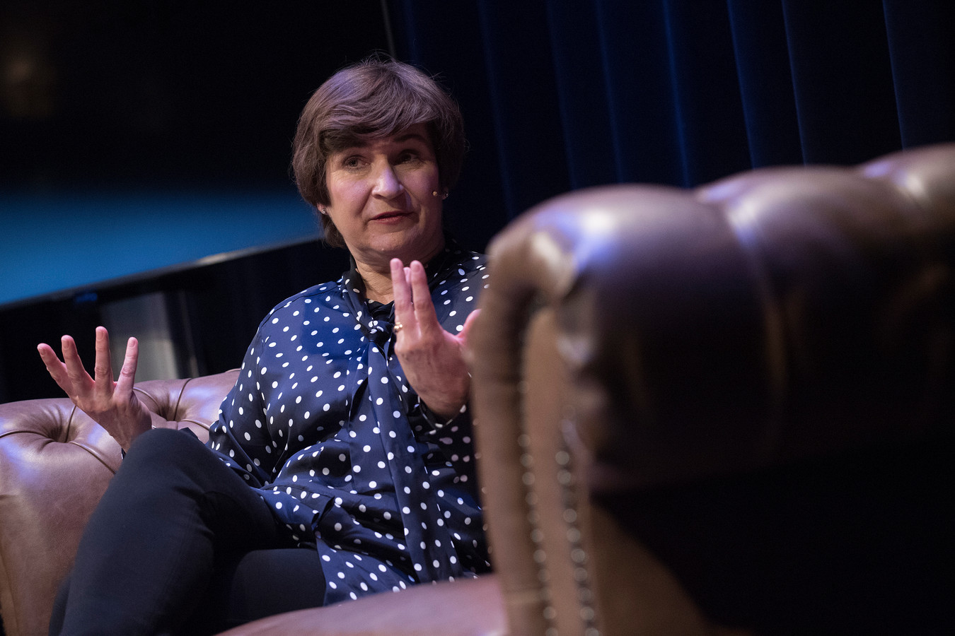 Lilianne Ploumen in het Posttheater.