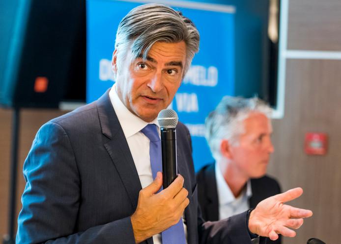 Wethouder Adriaan Visser