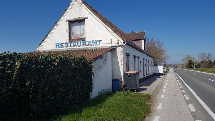 Het voormalige restaurant De Kloeffe, dat nu Chez Marie heet.