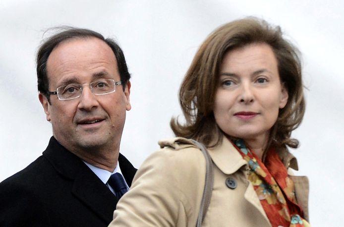 François Hollande et Valérie Trierweiler (2012)