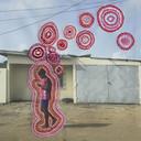 Joana Choumali borduurde op haar beelden voor de tentoonstelling Afrotopia.