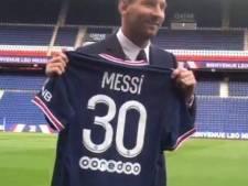 Messi portera le N.30 au PSG, comme à ses débuts au Barça