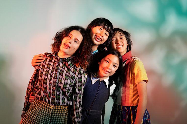 The Linda Lindas bestaan uit Mila (10), Lucia (14), Eloise (13) en Bela (16).  Beeld Linda Lindas