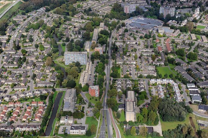 Elderveld in Arnhem-Zuid op archiefbeeld. Zuid is 'het meest gemiddelde stukje Nederland' zegt electoraal geograaf Josse de Voogd.
