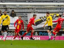 NAC verliest zicht op plaats twee na kansloze nederlaag tegen Go Ahead Eagles