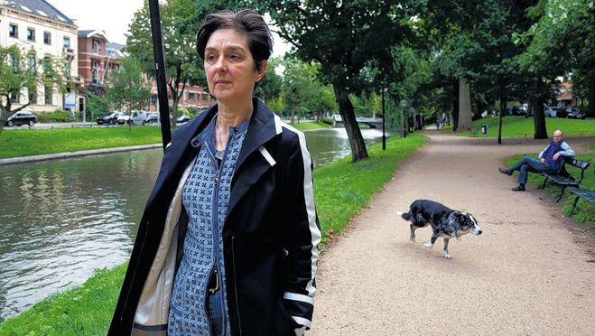 José Teunesen zag haar hond Durga verdrinken in de singel bij het Lucasbolwerk.