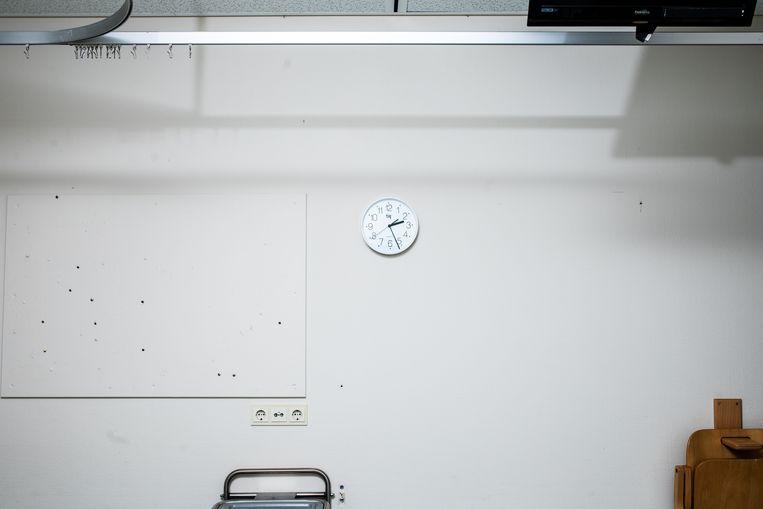 Kamer 205 van het Amsterdam UMC, waar patiënten in slaap worden gebracht. Beeld Nosh Neneh