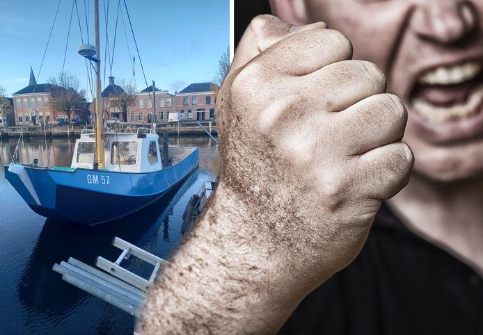 De ruzie tussen de vissersbroers sleept zich al meerdere jaren voort.