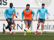 """Eden Hazard encore absent de la sélection de Zinédine Zidane: """"Il n'est pas à 100%"""""""