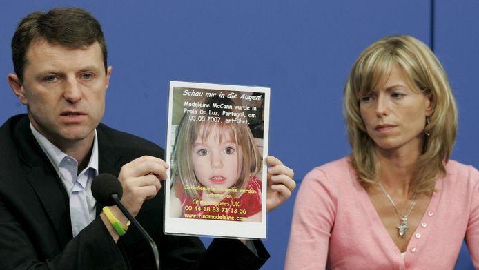 De ouders van de destijds 3-jarige Madeleine McCann.