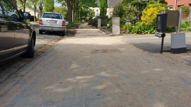 Ook Kerkelei krijgt nu nieuwe voetpaden