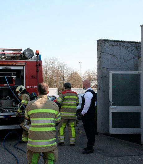 Brand in spouwmuur van Ziekenhuis Rivierenland in Tiel geblust met behulp van speciaal spuitsysteem