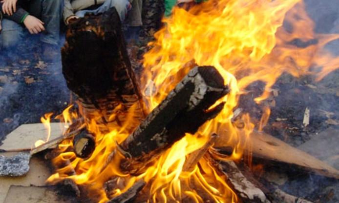 Als je in de duinen 's avonds een vuurtje stookt of barbecuet, kun je een boa op je dak krijgen.
